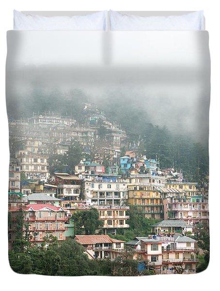 Maleod Ganj Of Dharamsala Duvet Cover