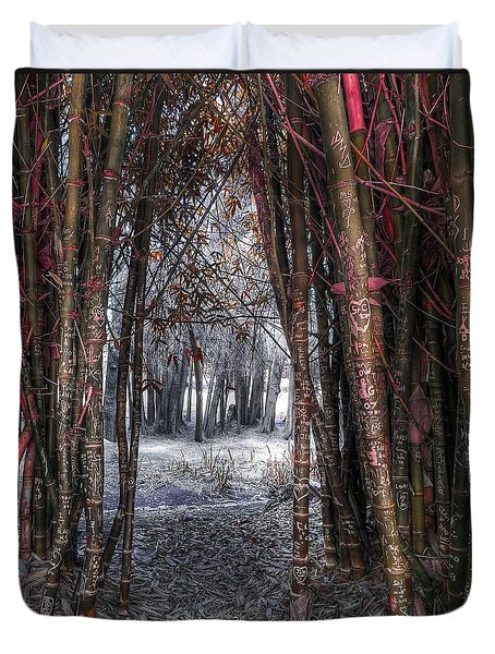 Malice In Wonderland Duvet Cover