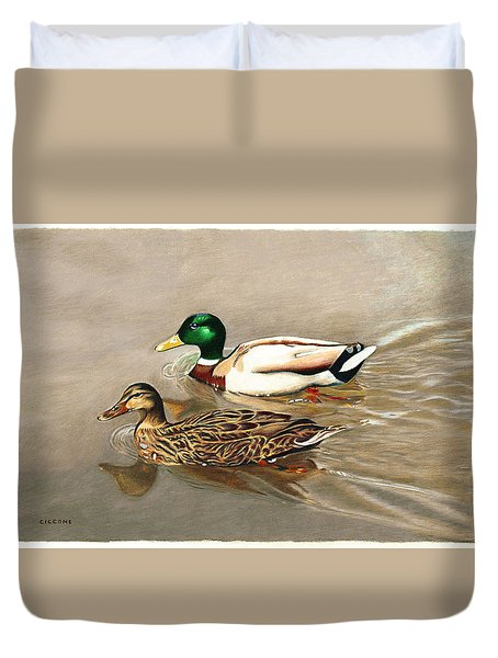 Mallards Duvet Cover