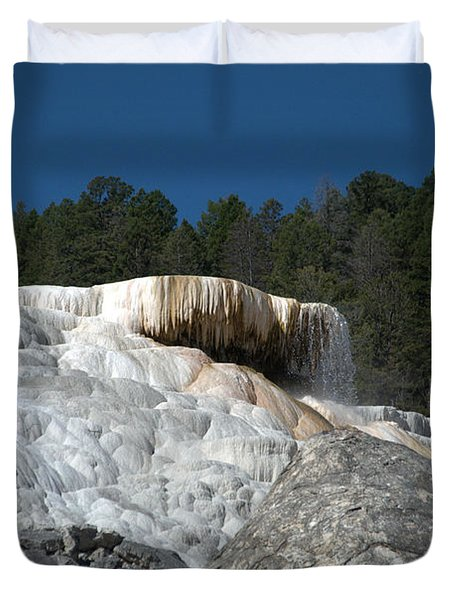 Mammoth Hot Springs 1 Duvet Cover