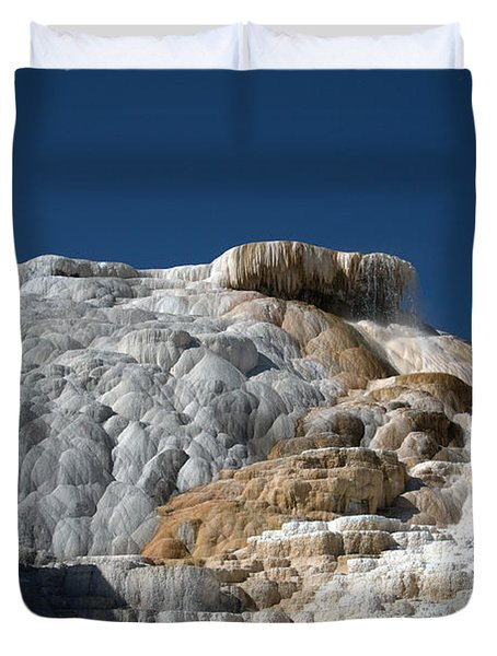 Mammoth Hot Springs 2 Duvet Cover
