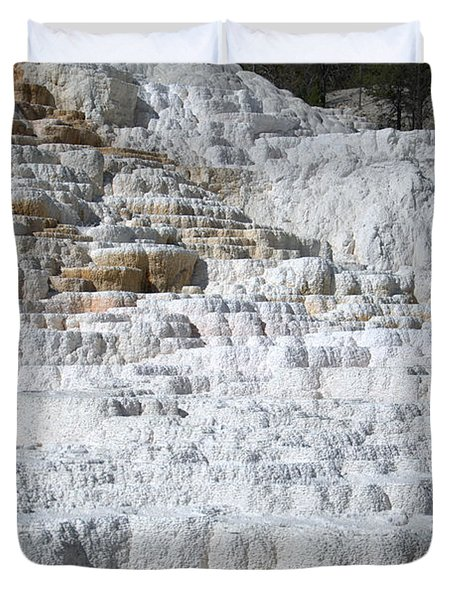Mammoth Hotsprings 3 Duvet Cover