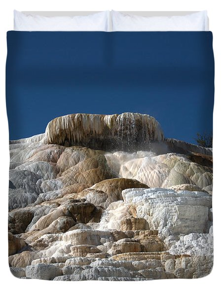 Mammoth Hotsprings 4 Duvet Cover