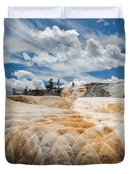 Mammouth Terraces Duvet Cover