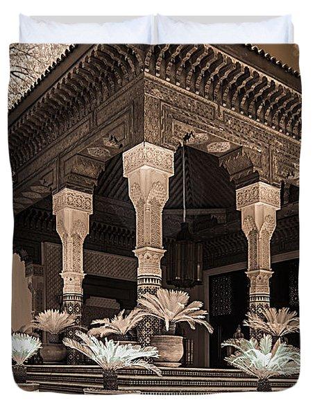Mamounia Hotel In Marrakech Duvet Cover