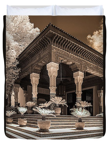 Mamounia Hotel In Marrakech Duvet Cover