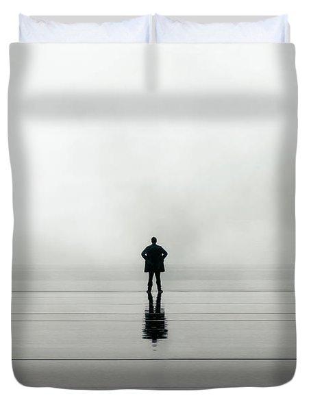Man Alone Duvet Cover by Joana Kruse