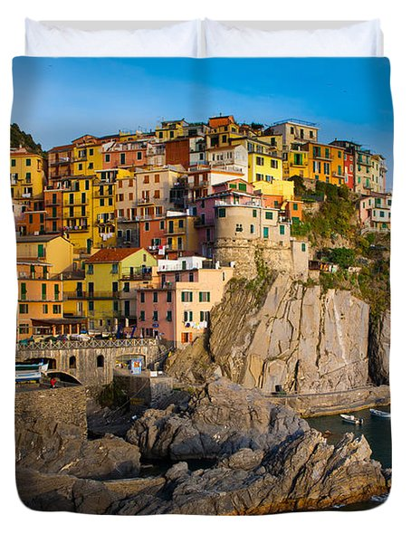 Manarola Duvet Cover by Inge Johnsson
