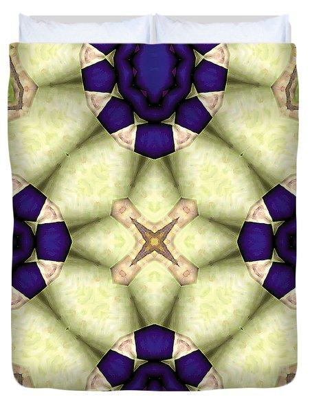 Mandala 115 Duvet Cover by Terry Reynoldson