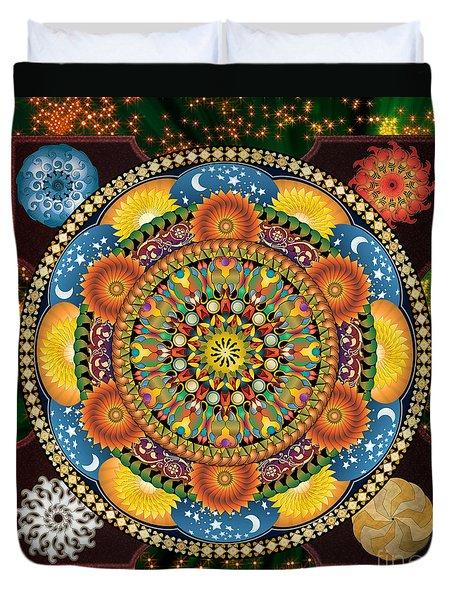Mandala Elements Duvet Cover