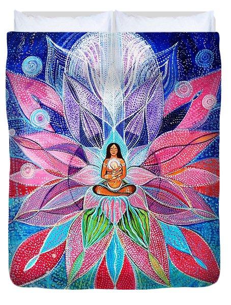 Mandala For Inner Child Duvet Cover