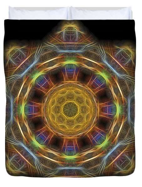 Mandala Of Light 1 Duvet Cover