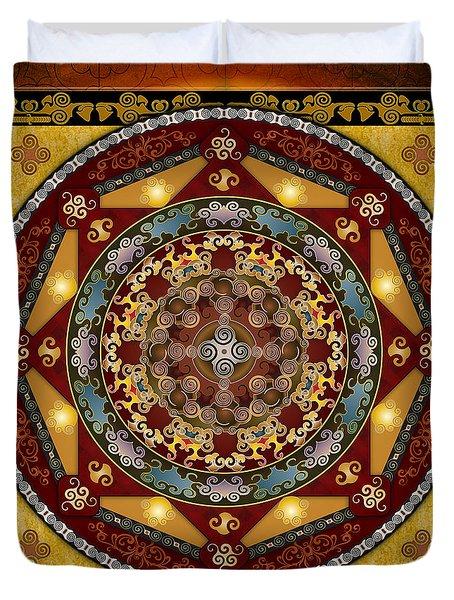 Mandala Oriental Bliss Duvet Cover