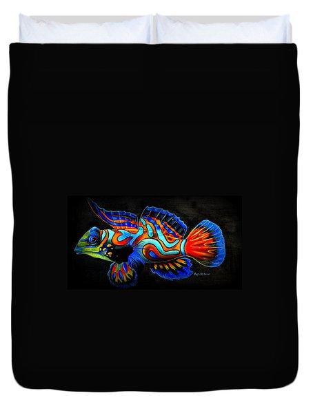 Mandarin Fish Duvet Cover