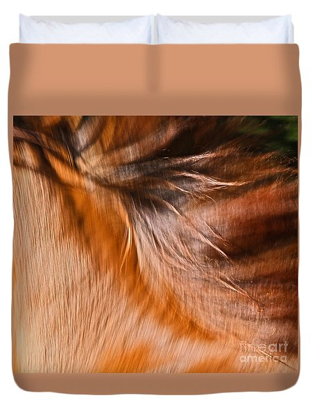 Mane Dance Light Duvet Cover