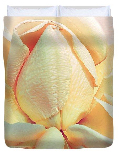 Mango Smoothie Duvet Cover by Darlene Kwiatkowski