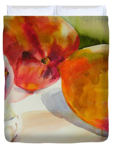 Mangoes  Duvet Cover