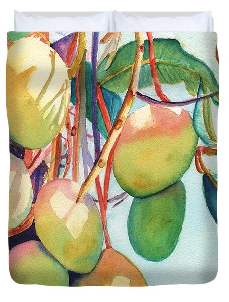 Mangoes Duvet Cover