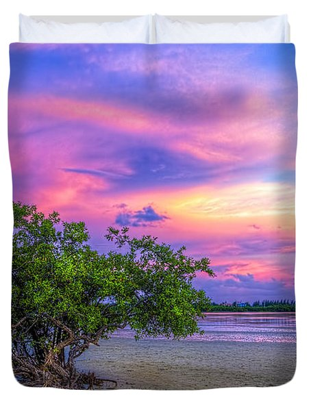 Mangrove By The Bay Duvet Cover