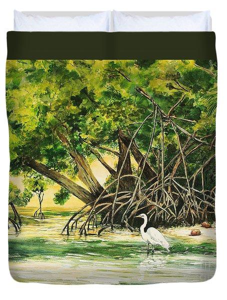 Mangrove Morning Duvet Cover
