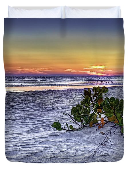 Mangrove On The Beach Duvet Cover