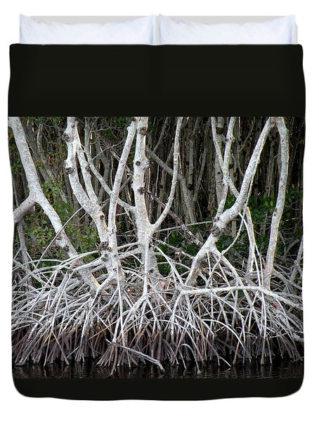 Mangrove Roots Duvet Cover