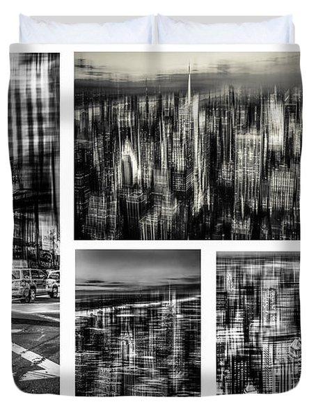 Manhattan Collection I Duvet Cover by Hannes Cmarits