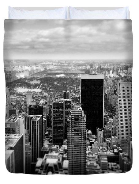 Manhattan Duvet Cover by Dave Bowman