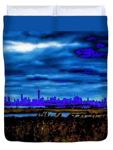 Manhattan Project Duvet Cover