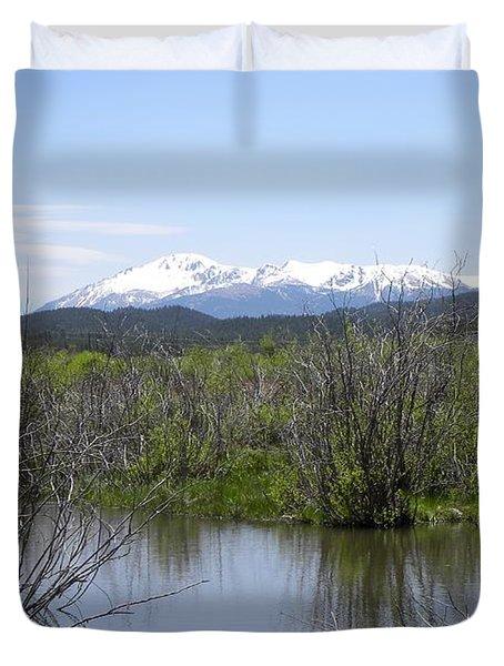 Lake Manitou Sp Woodland Park Co Duvet Cover