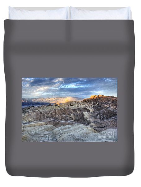Manly Beacon Duvet Cover by Juli Scalzi