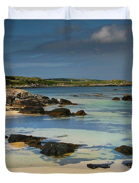 Mannin Bay Ireland Duvet Cover