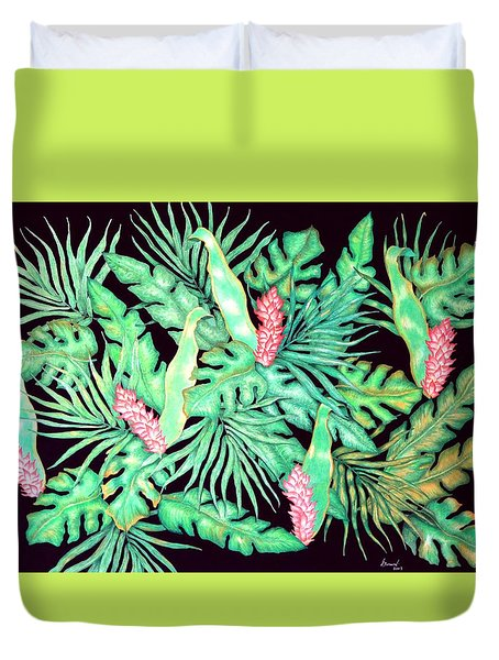 Manoa Duvet Cover by Thomas Gronowski