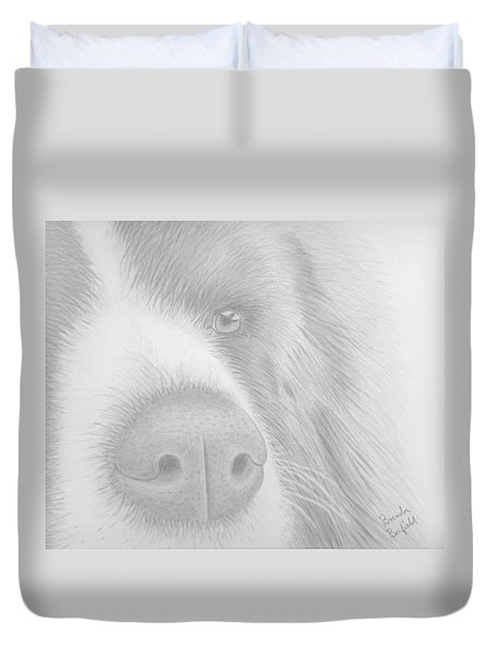 Man's Best Friend Duvet Cover