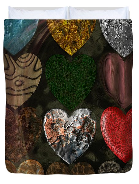 Many Types Of Love Duvet Cover