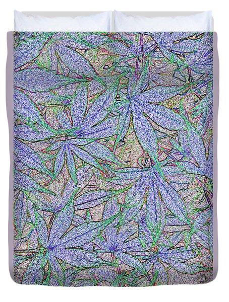 Maple Leaves No.2 Duvet Cover