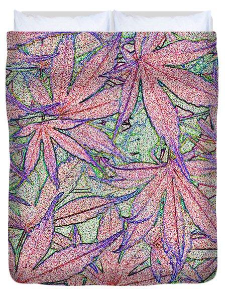 Maple Leaves No.3 Duvet Cover
