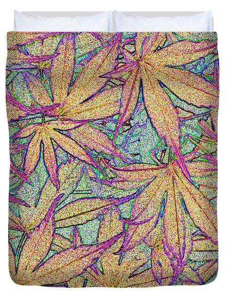 Maple Leaves No.4 Duvet Cover
