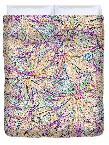 Maple Leaves No.5 Duvet Cover