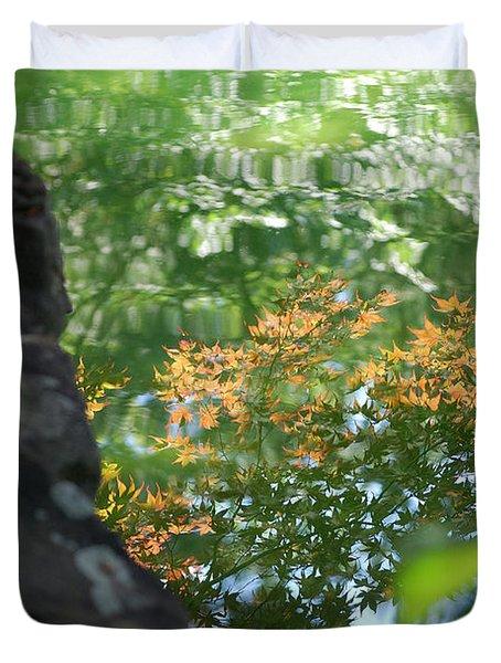 Maple Reflections Duvet Cover