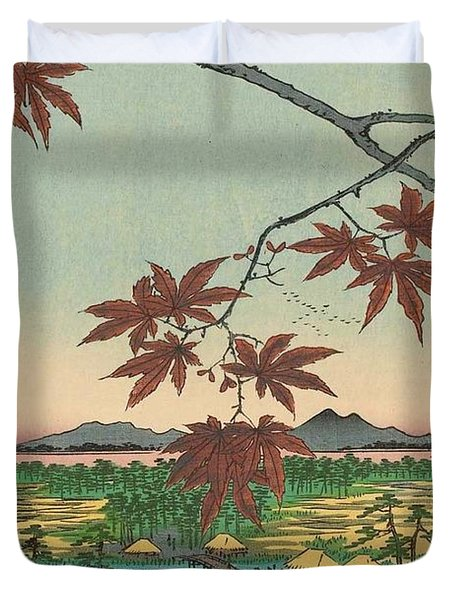 Maple Trees At Mama Duvet Cover