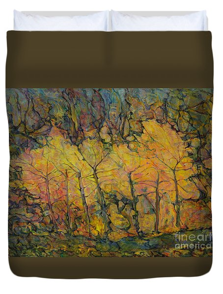 Maples Duvet Cover