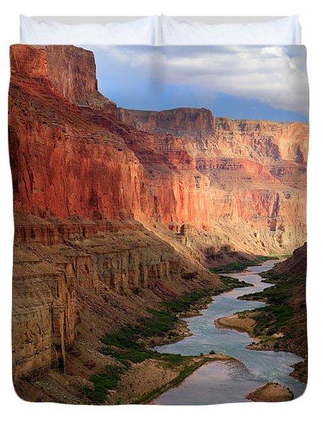 Marble Canyon - April Duvet Cover