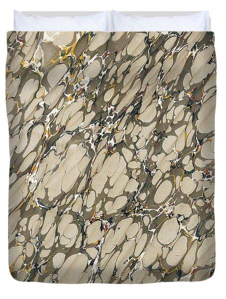 Marble Endpaper Duvet Cover