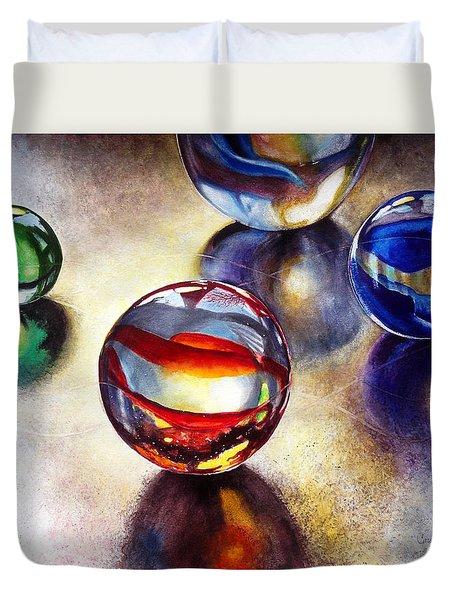 Marbles 2 Duvet Cover