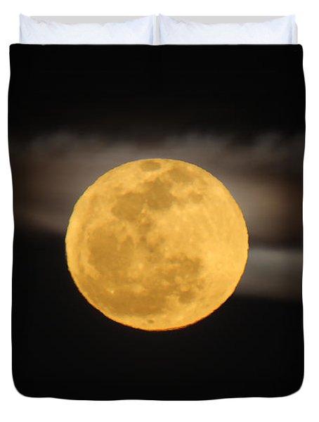 March Full Moon Duvet Cover