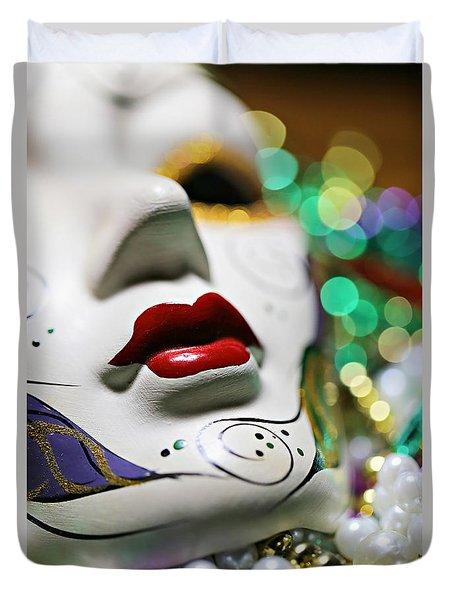 Mardi Gras II Duvet Cover