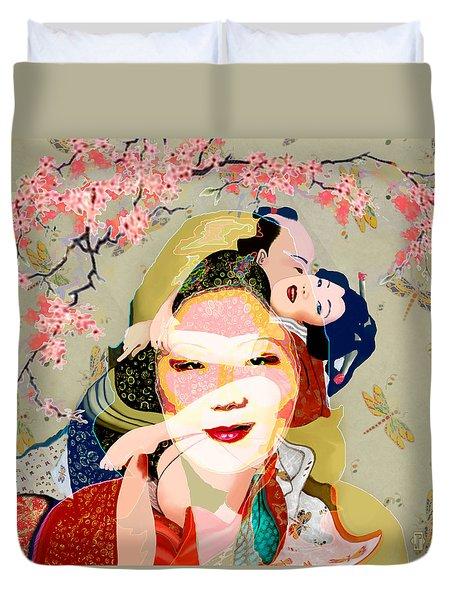 Margaret Cho 4 Duvet Cover
