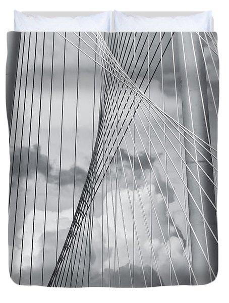 Margaret Hunt Hill Bridge Duvet Cover