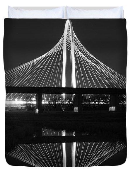 Margaret Hunt Hill Bridge Reflection Duvet Cover